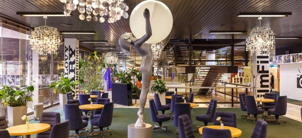 Die Lobby-Bar des Kurhotels Thermal in Karlsbad