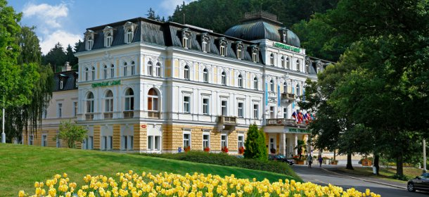 Das 4-Sterne Superior- Danubius Spa & Kurhotel Central Bad in Marienbad