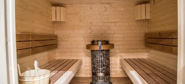 Die moderne Wellness & Saunawelt, direkt im Spa-Appatement St. Moritz