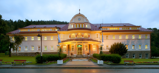 Agricola, das moderne Spa & Wellnesszentrum in Jachymov